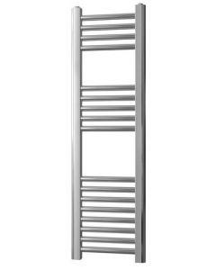 Straight Towel Rail Chrome 1200 x 400