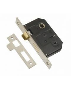 PSS 63mm Bathroom Mortice Lock (Clam Packed) - DP007178