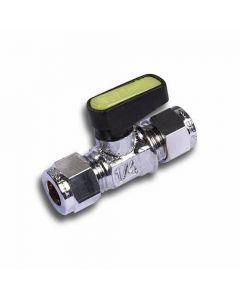 Mini Lever Ball Valve for Gas BG Approved EN331 CxC 10mm