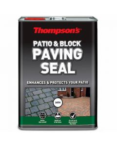 Thompsons Patio & Block Paving Seal Satin Finish 5L