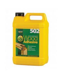 Everbuild 502 All Purpose Weatherproof Wood Adhesive 5L