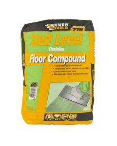 Everbuild Self Level Flexiplus Floor Compound 710 20kg