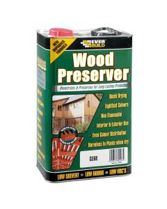 Everbuild Wood Preserver Clear 5L
