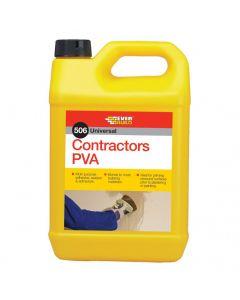 Everbuild Contractors PVA 506 5L