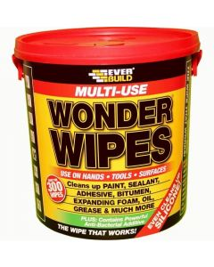Everbuild Multi-use Wonder Wipes Giant Tub (300 wipes)