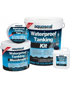 Everbuild Aquaseal Wet Room Kit Standard 4.5m2
