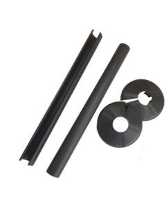 Talon SNAPPIT 200mm Tail Kit Black 15mm - ACSNB/K2