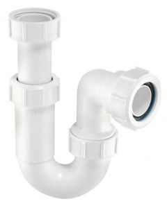 "McAlpine Tubular Swivel Trap Adjustable Inlet (ASA10 1.1/4"")"