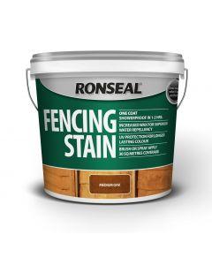 Ronseal Fence Stain 5L Medium Oak