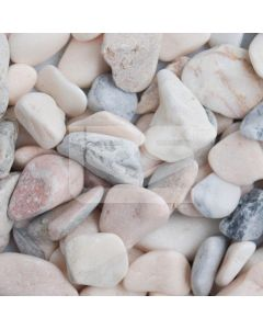 LRS Poly Bag Flamingo Pebbles 20-50mm