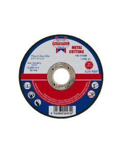 Faithfull Flat Metal Cut Disc 3.2x22mm
