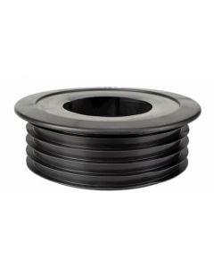 FlueSnug Black 110mm
