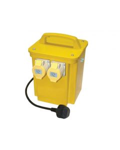 Faithfull 3.3kVa Twin Outlet Transformer Tran33A