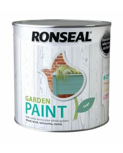 Ronseal Garden Paint-2.5 Litres-Sage