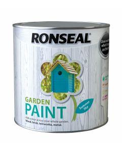 Ronseal Garden Paint-2.5 Litres-Summer Sky