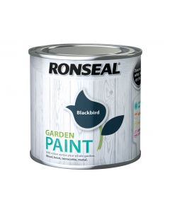 Ronseal Garden Paint-250ml-Blackbird