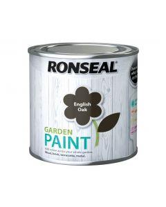 Ronseal Garden Paint-250ml-English Oak