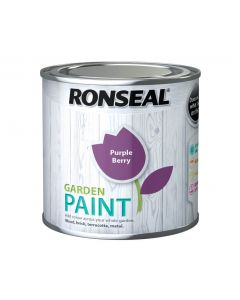 Ronseal Garden Paint-250ml-Purple Berry