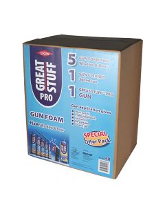Dow Great Stuff Pro Gun Foam Fixer Kit