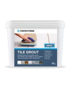 Pavestone Tile Grout Mid Grey 10kg - 06 110 007