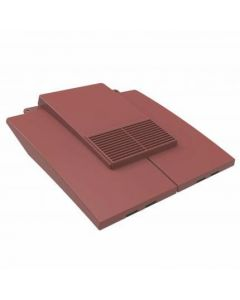 Manthorpe GTV-PT-AR Plain Tile Roof Vent Antique Red