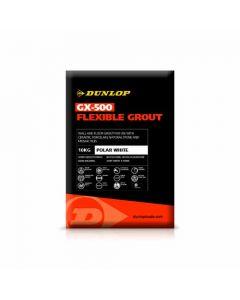 Dunlop GX-500 Flexible Wall & Floor Grout Polar White 2.5kg - 25944