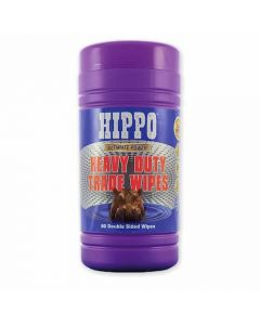 Hippo Heavy Duty Trade Wipes (Plastic Tub of 80) - H18711