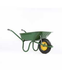 Haemmerlin 1041 Original Wheelbarrow with Puncture Free Tyre Green 90L