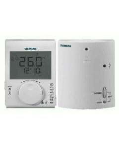 Siemens RDJ100RF/SET Digital (RF) Daily Digital Programmable Room Thermostat + Receiver