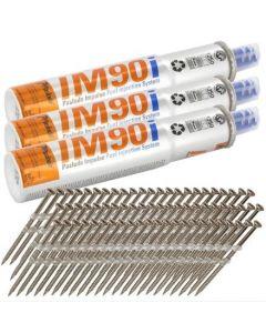 Paslode Im90I 142013 63mm Ring GP (3750)+ 3 Fuel Cells