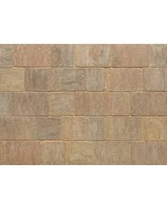 Stonemarket Trident Rumbled Concrete Block Paving-Forest Blend-240x160x50mm
