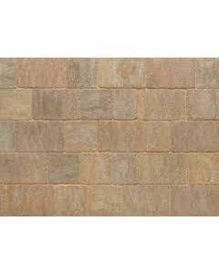 Stonemarket Trident Rumbled Concrete Block Paving-Forest Blend-160x160x50mm
