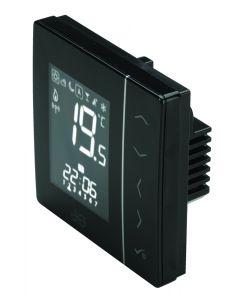 JG Speedfit Aura UFH Wireless Stat (230v) Black- JGSTATW2B