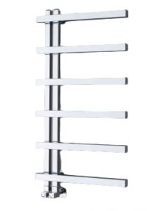 Vogue Keys II Towel Rail Chrome 1840x500mm