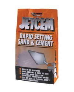 Everbuild Jetcem Premix Rapid Setting Sand and Cement 2kg