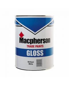 Macpherson Gloss Paint 2.5 litre - Brilliant White