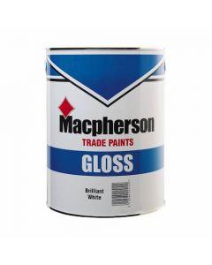 Macpherson Gloss Paint 1 litre - Brilliant White