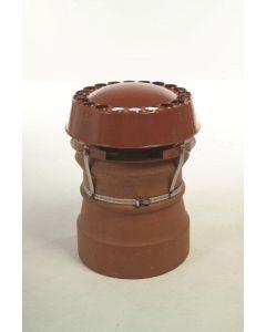 MAD Cowls Anti Downdraught Strap Fix - Terracotta 849980065