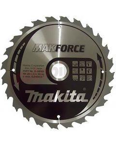 Makita Makforce Portable Saw Blade 190x30mm 24T B-08355