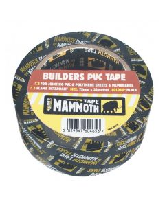 Mammoth Builders PVC Tape 75mmx33m