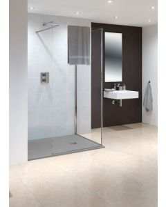 Lakes Marseilles Walk in Shower Panel 750x200mm - LK815075S