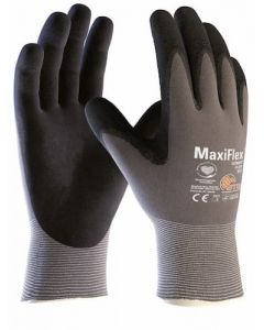 MaxiFlex Ultimate Ad-apt Palm Coated K/W Work Gloves - Size 10 (X Large)