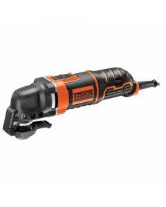 Black + Decker 300w Oscillating Multi-Tool with Accessory Kit - MT300KA-GB