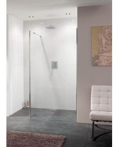 Lakes Nice Walk In Shower Panel 10mm Glass 1000x2000mm - LK1012100S