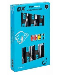 Ox Pro 7 Piece Screwdriver Set - OX P363107
