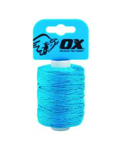 Ox Pro Cyan Nylon Brickline (105m/350' P103510)