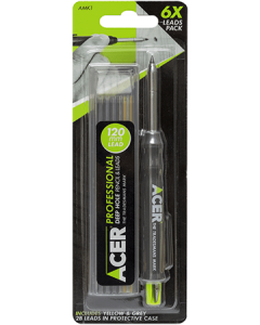 Acer Deep Hole Pencil & 6 Lead Pack - AMK1
