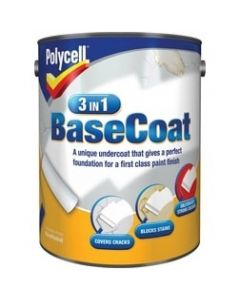 Polycell 3 In 1 Basecoat 5 Litres