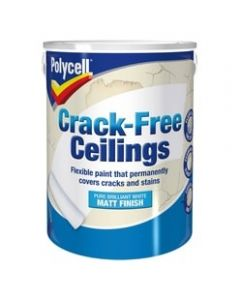Polycell Crack Free Ceilings Smooth 2.5L Matt