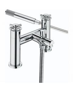 Bristan Decade Bath Shower Mixer Chrome DX BSM C